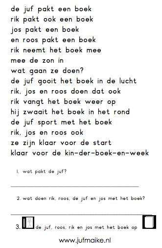Sport met een boek