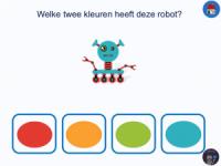 robot twee kleuren