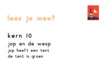 Verhaaltje kern 10: jop en de wesp
