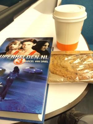 Superhelden 3 in de trein