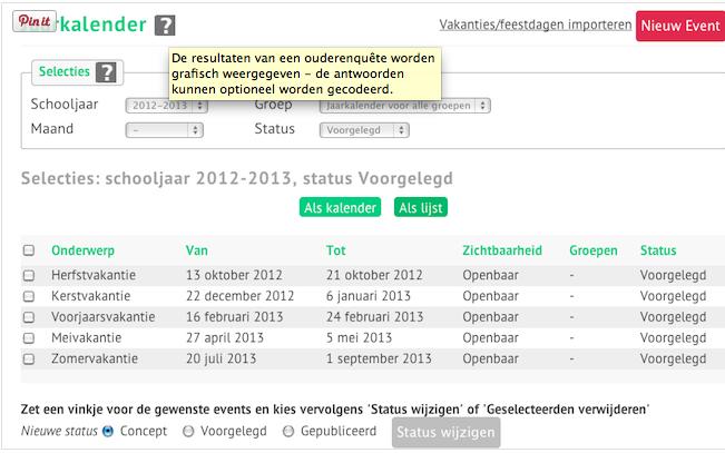 Polls en enquêtes SchouderCom