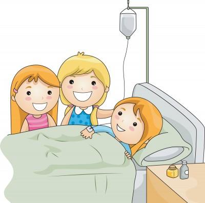 Kind in ziekenhuis