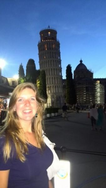 Ik met torre di pisa-2