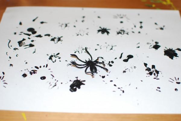 Stempelen spinnen