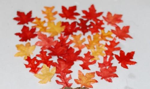 Boomtop van bladeren
