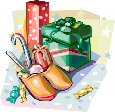 Sinterklaas schoen zetten