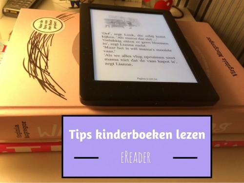 Tips kinderboeken lezen eReader