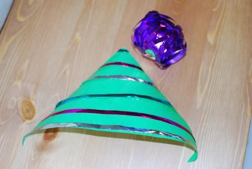 Kerstboom met cadeaulint