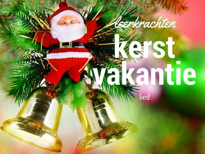 Kerstvakantie lied voor leerkrachten