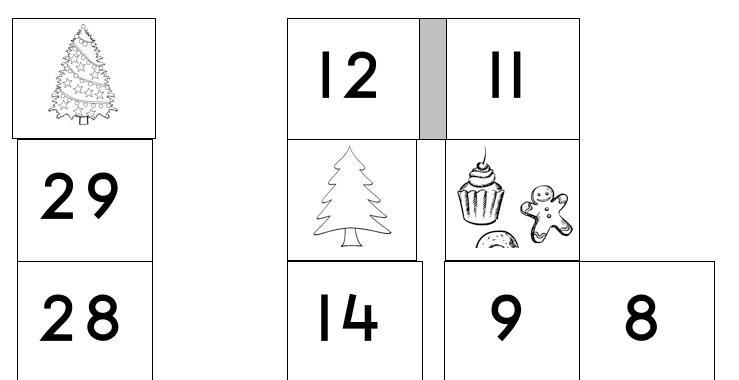 Bordspel kerst