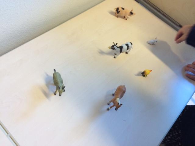 Plastic boerderijdieren