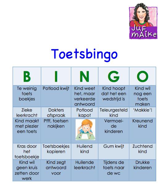 Toetsbingo