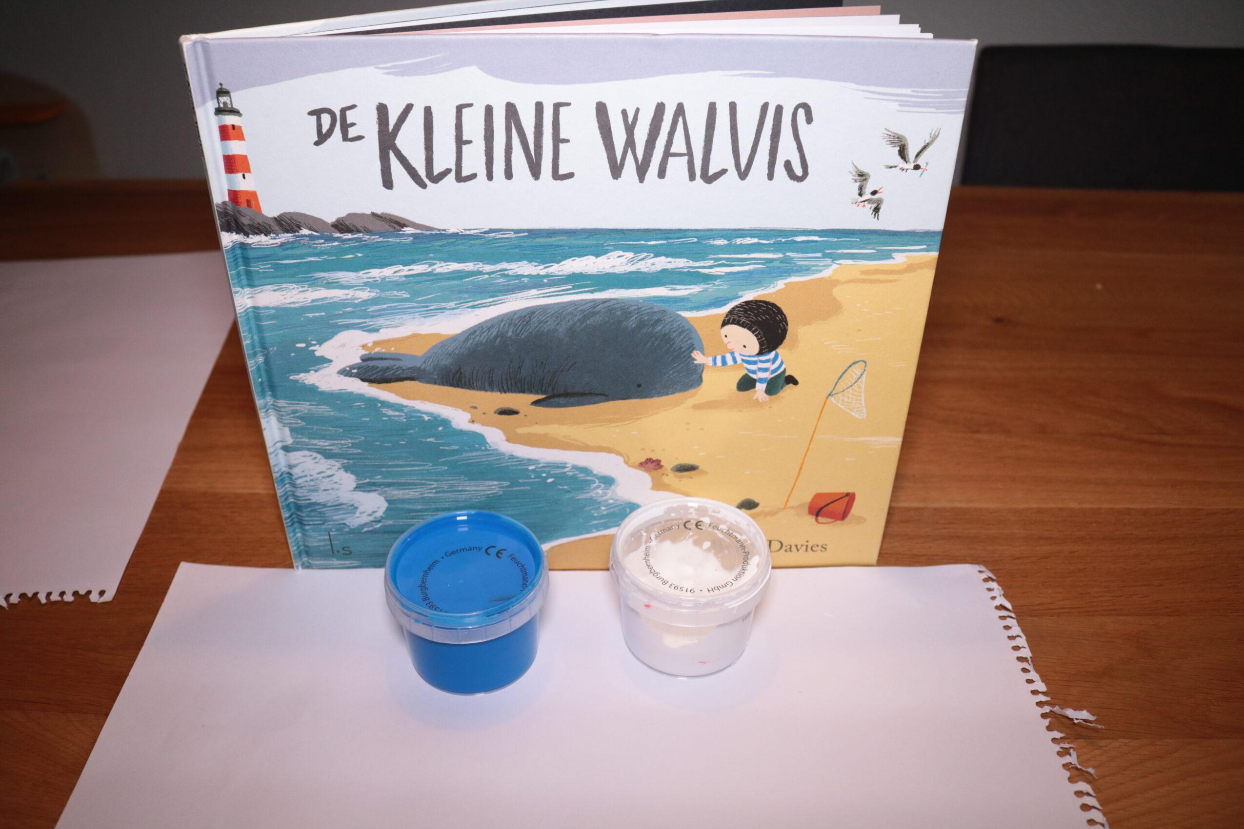 Benodigdheden Knutselen De kleine walvis