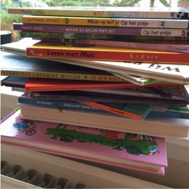 Stapel prentenboeken
