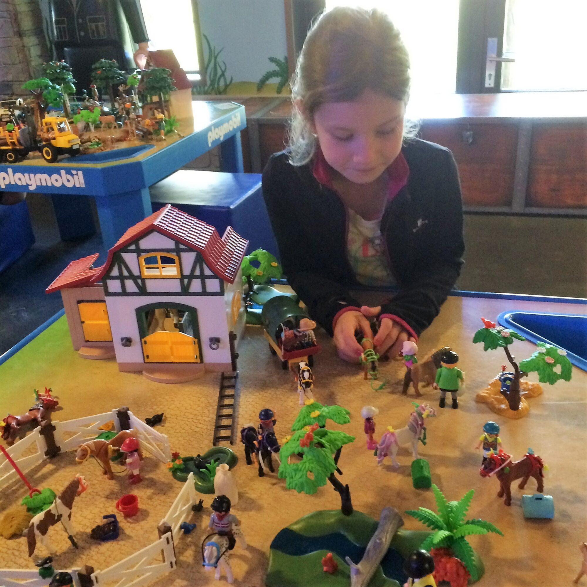 Spelen met Playmobil