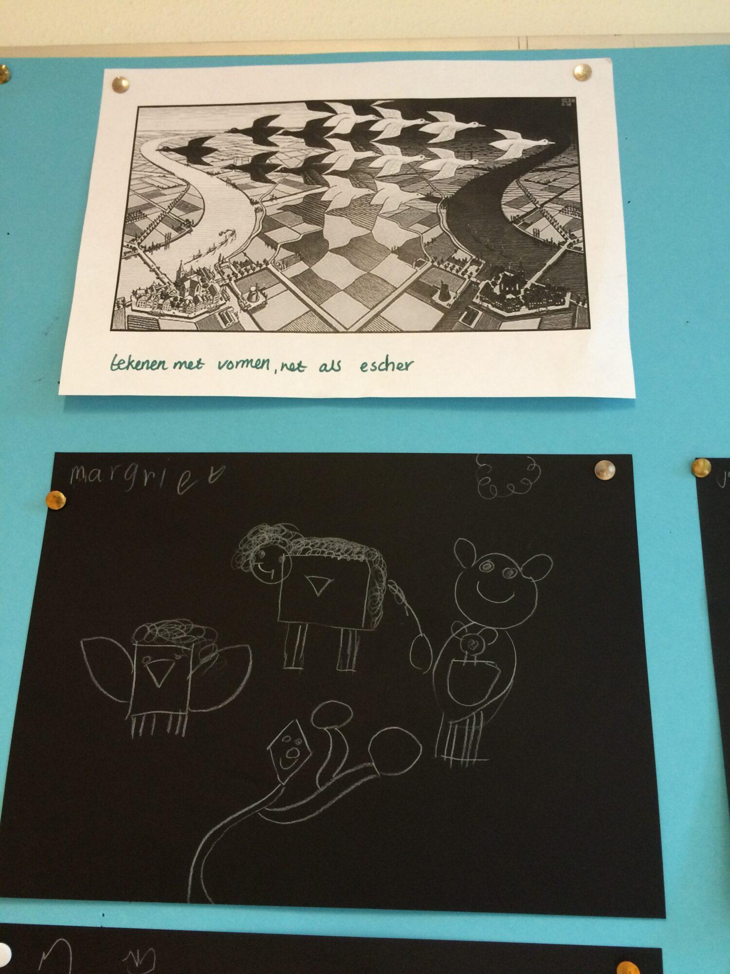 Tekenen zoals Escher
