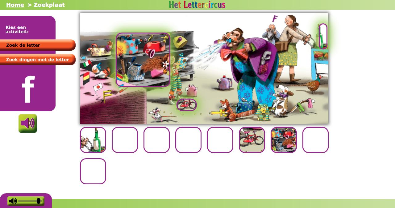 Het Lettercircus Digitaal