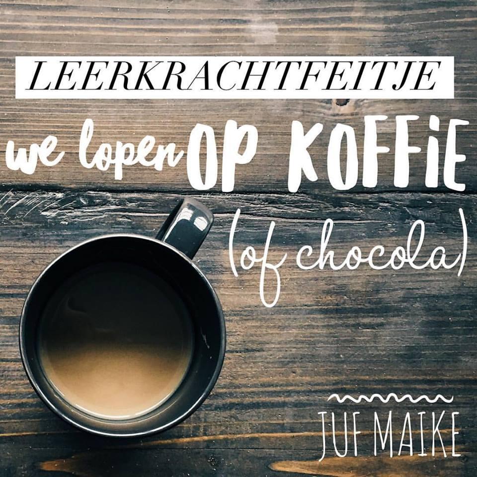 we lopen op koffie