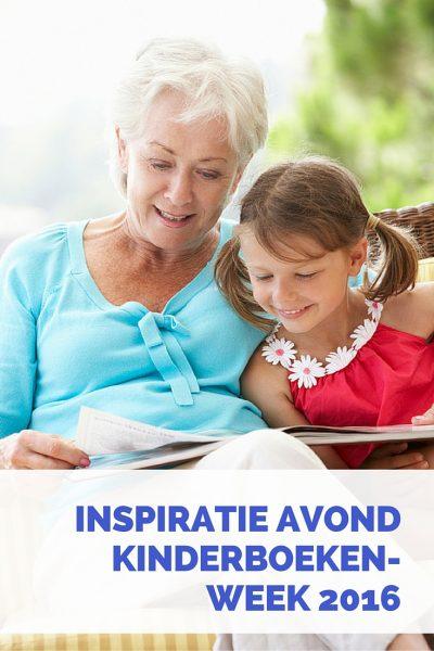 Inspiratie avond Kinderboekenweek 2016