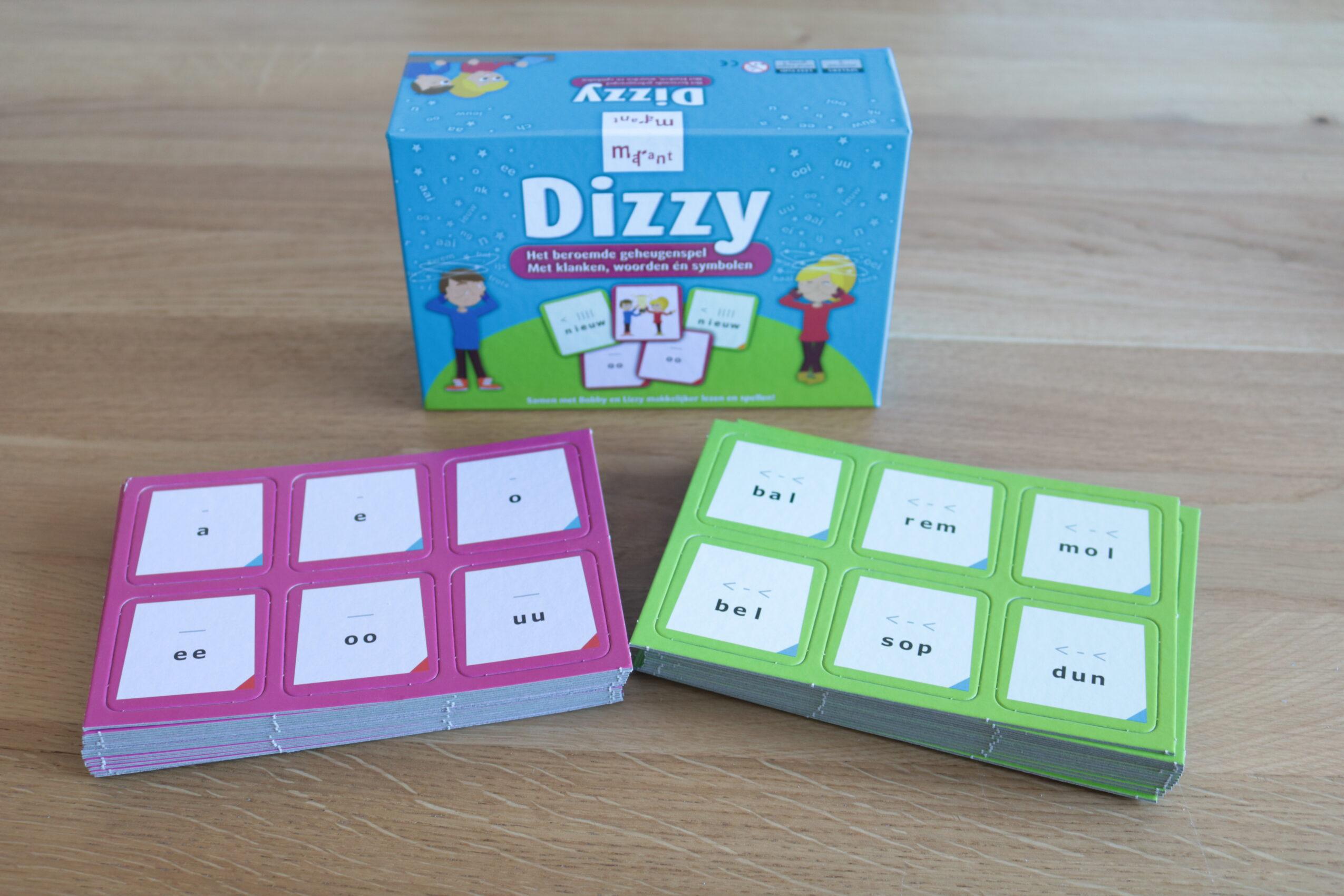 Spiksplinternieuw Win en review geheugenspel Dizzy • Juf Maike HY-58