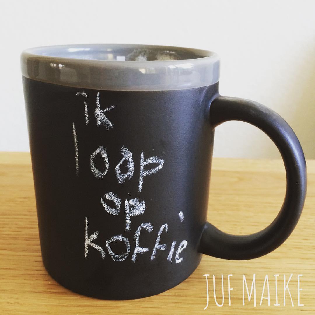 Koffie leerkracht