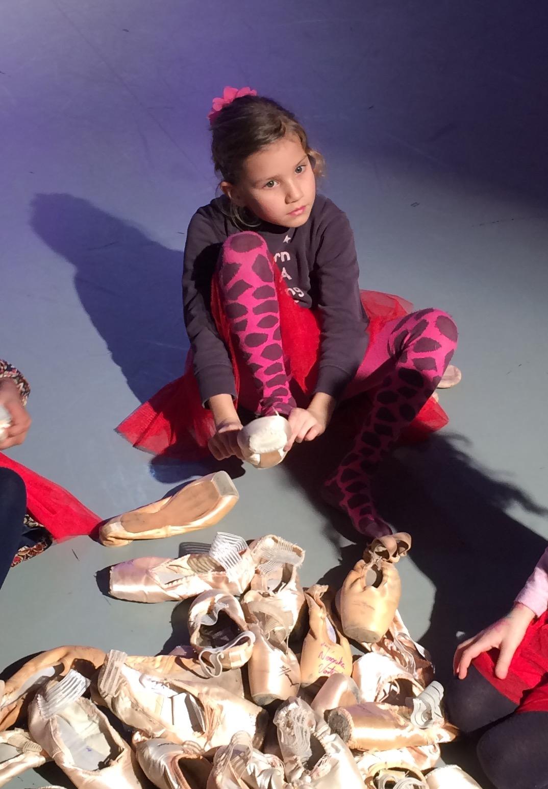meisje zeven jaar ballet