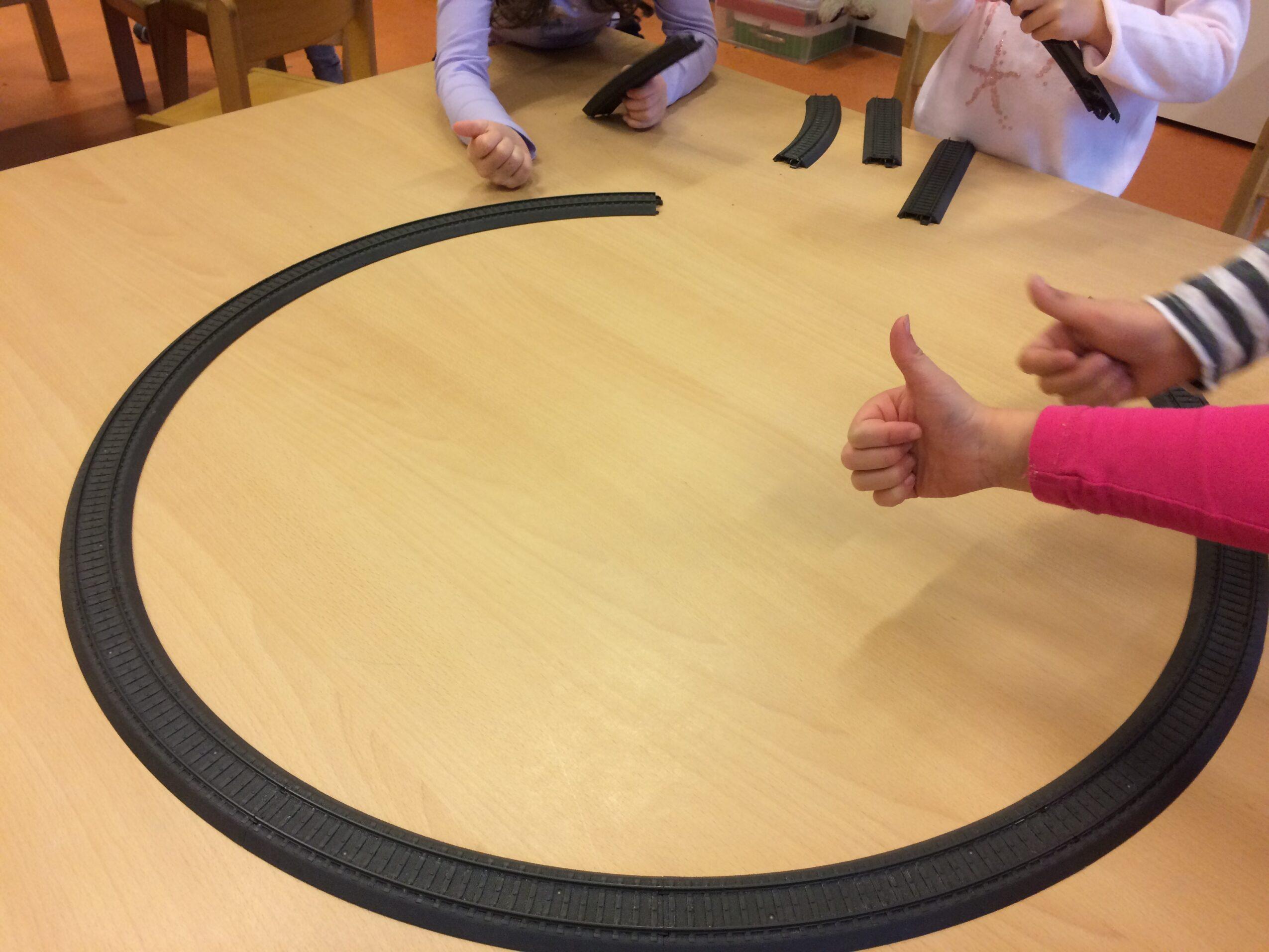treinbaan maken