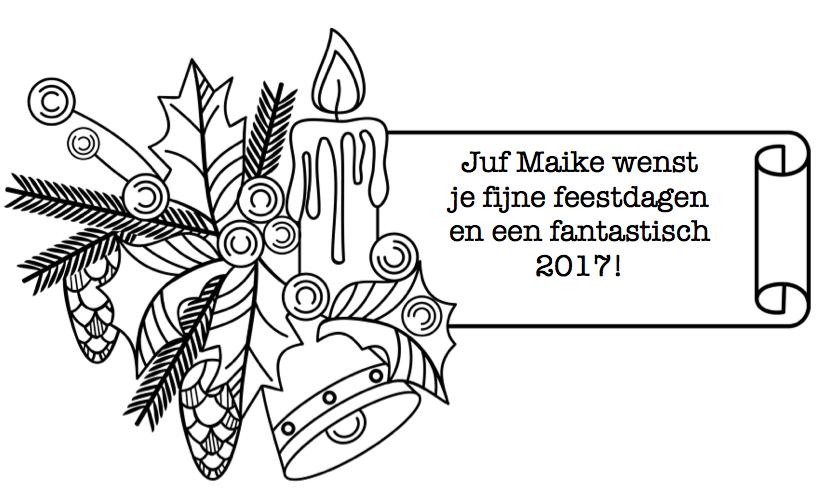 Placemat Kerst Juf Maike Leerkracht Website En Blog