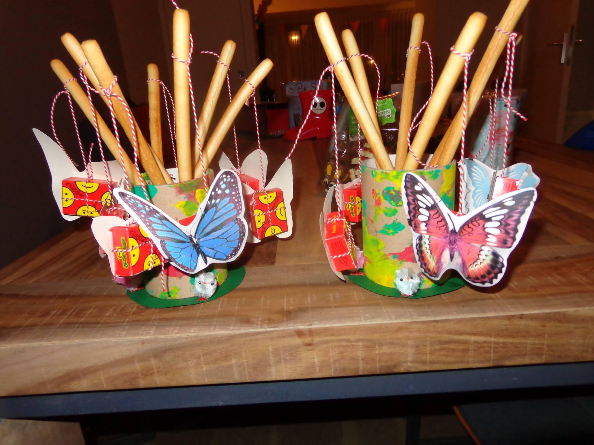 Vliegende vlindertjes