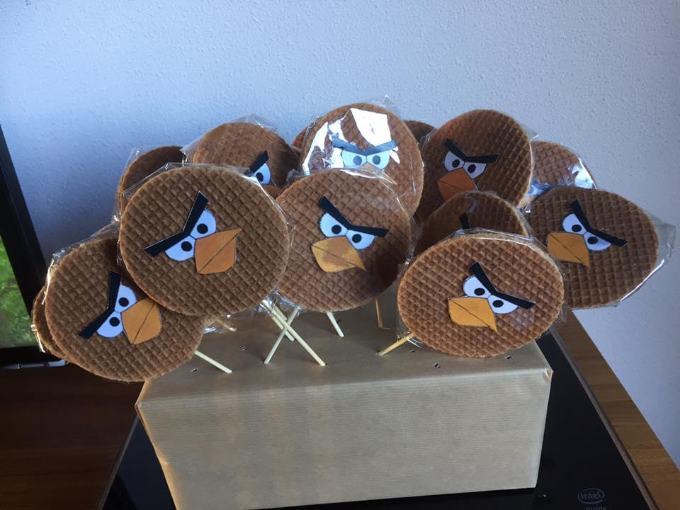 Stroopwafel Angry Birds