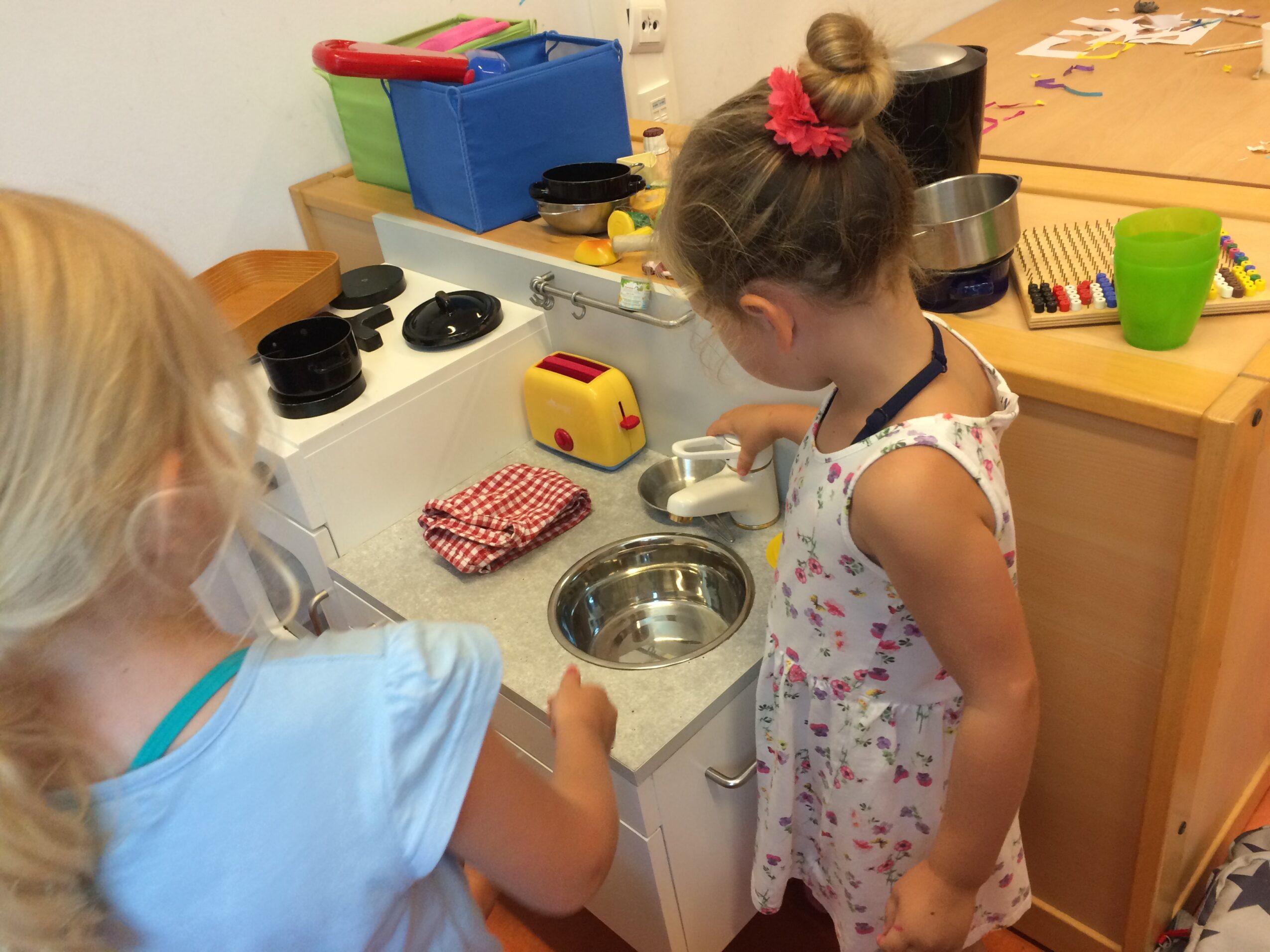 Spelen met de keuken