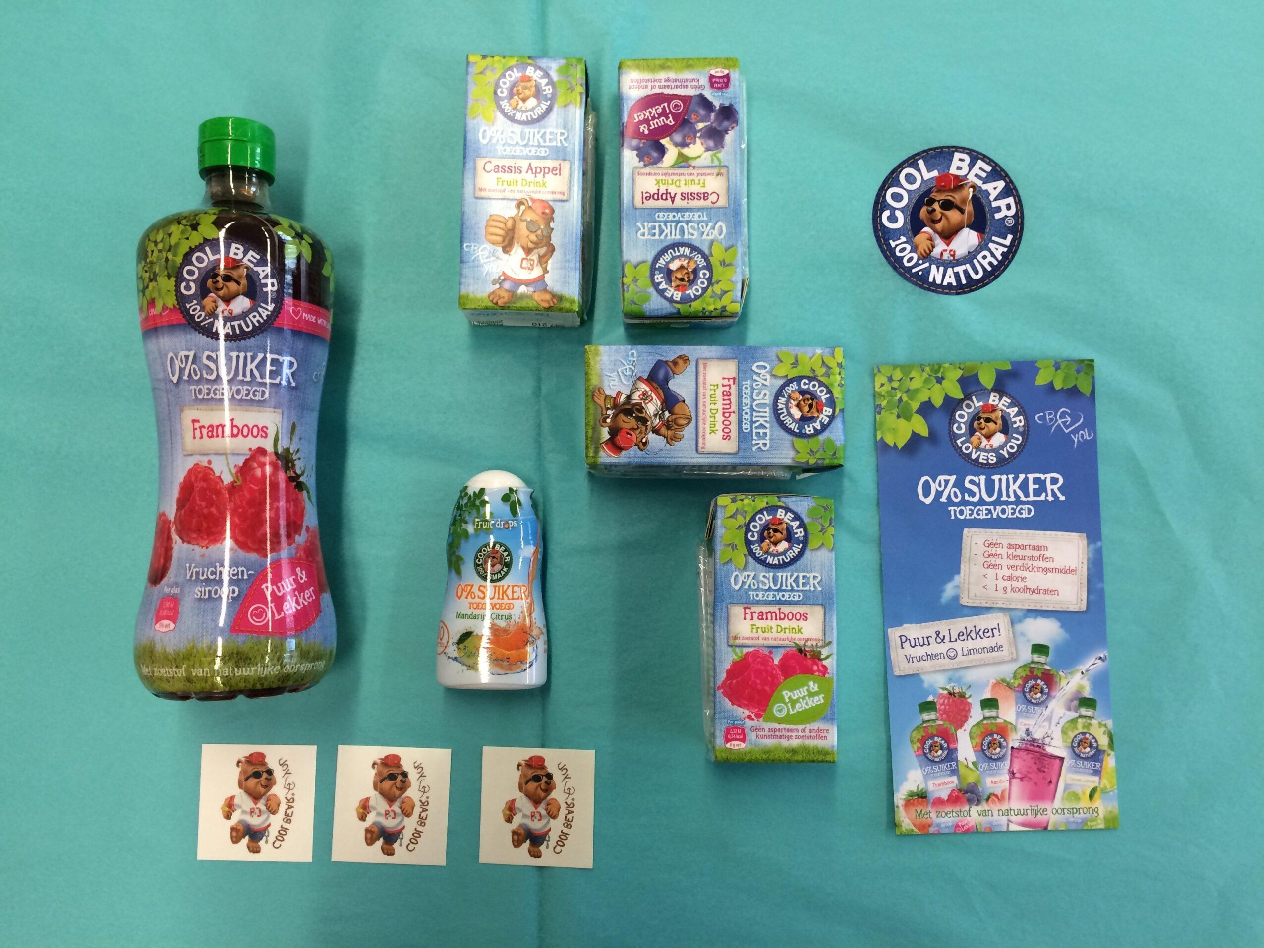 WIN Limonadepakket Cool Bear