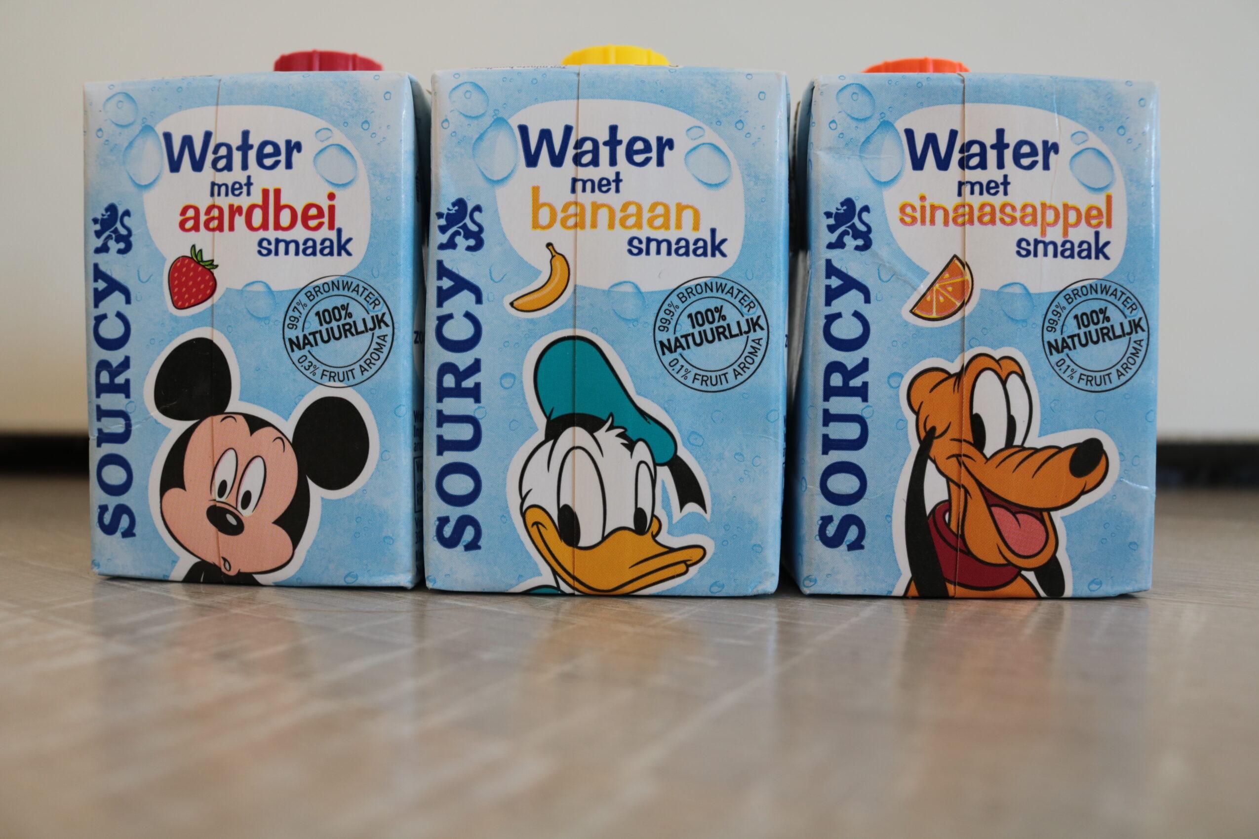 Sourcy Water met een Fruitsmaakje