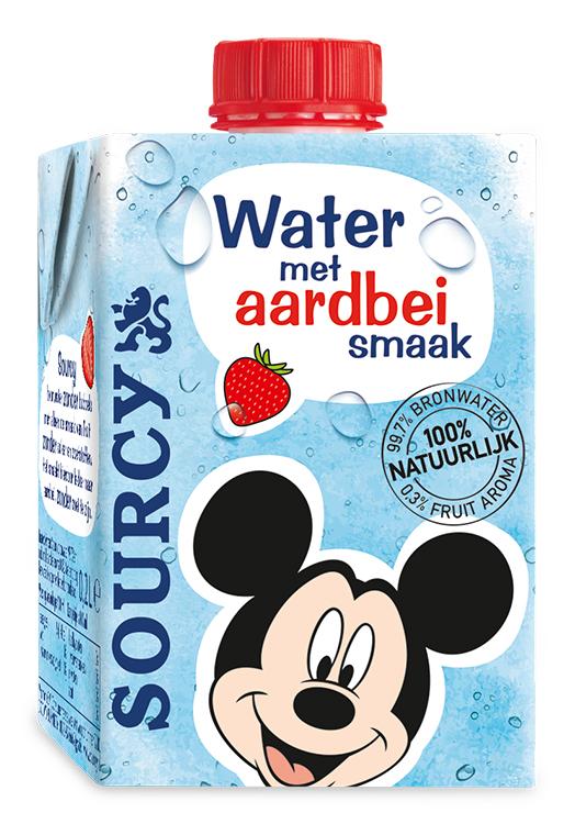 Sourcy water met een smaakje